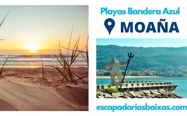 Playas con Bandera Azul Moaña 1