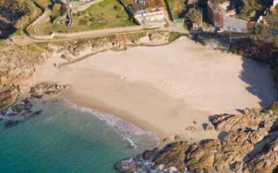 Playa Fortiñón Vigo
